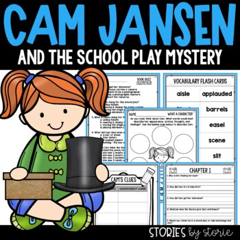 Cam Jansen and the School Play Mystery Book Questions & Vo
