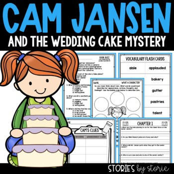 Cam Jansen and the Wedding Cake Mystery Book Questions & V