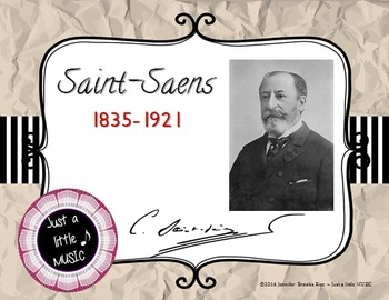 Camille Saint-Saens - his life and music PPT