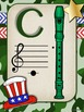 Camo Music Decor - Recorder Charts