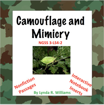 Camouflage and Mimicry Lesson Bundle
