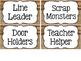 Camp Classroom Decor {Editable}
