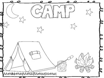 Camp Color Sheet