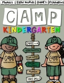 Camp Kindergarten: Literacy Centers and Activities for Kin