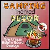 Camping Themed Library Media Center or Classroom Decor