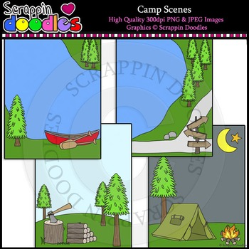 Camp Scenes Backgrounds