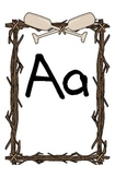 Camp Theme Alphabet