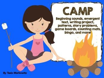 Camp Theme Printable
