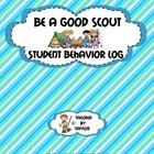 Camp Themed Behavior Sheet