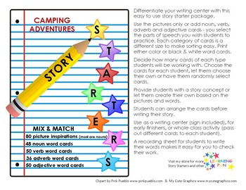 Camping Adventure Story Starters
