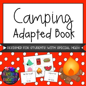 Camping Adapted Book