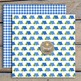 Camping Boy digital paper and clipart