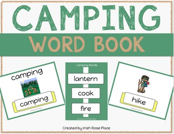 Camping Leveled Word Books (Adapted Books)