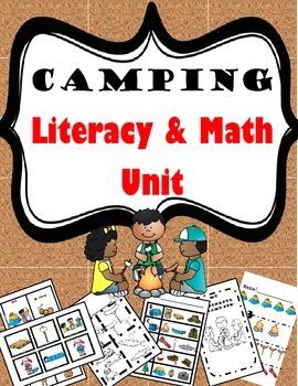 Camping Literacy and Math Unit