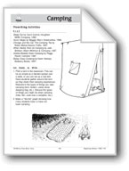 Camping (Make Books with Children)
