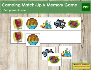 Camping Match-Up and Memory