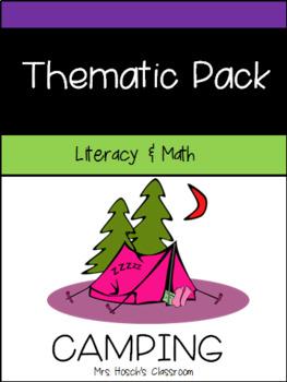 Camping Math and Literacy Unit