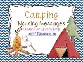 Camping- Morning Messages