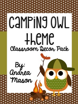 Camping Owl Theme