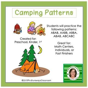 Camping Patterns FREEBIE