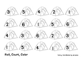 Camping - Roll, Count, Color
