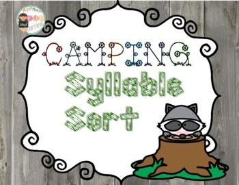 Camping Syllable Sort