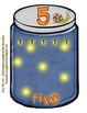 Camping Theme - Firefly Jar Number line Bulletin Board
