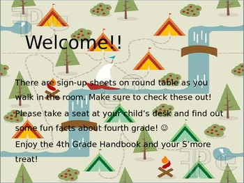 Camping Theme Powerpoint Presentation