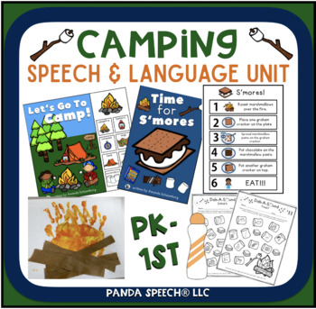 Camping Themed Speech and Language Unit!