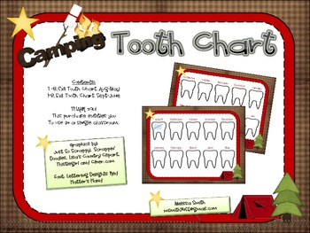 Camping Tooth Chart