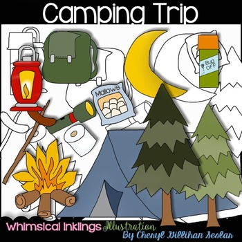 Camping Trip Clipart Collection