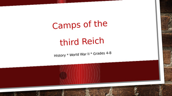 Camps of the Third Reich