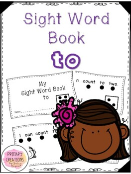 Can - Counting Sight Word Book