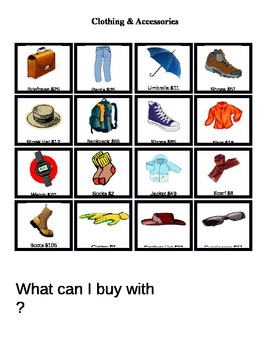 Special Education: Can I Buy This? Using Money Life Skills