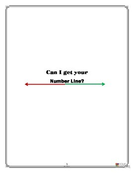 Can I Get Your Number Line?  (7.NS.1)