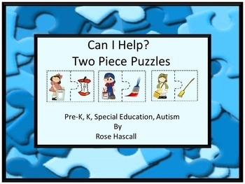 Games Can I Help Two Piece Puzzles