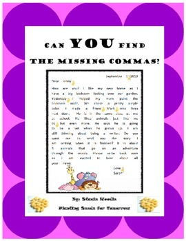 Can YOU Find the Missing Commas?
