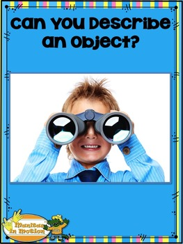 Can You Describe an Object? – Songbook Mp3 Digital Downloa
