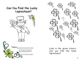 Can You Find the Lucky Leprechaun? Little Reader