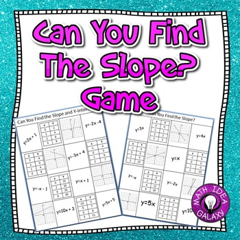 Find the Slope Game