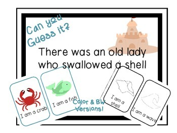 Can you Guess it? There was an old lady who swallowed a sh