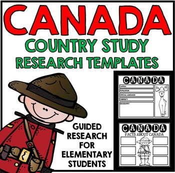 Canada Country Study Research Project Templates