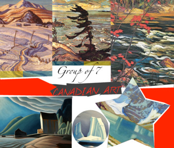 Canada Art History Group of Seven ~ FREE POSTER ~ Landscap