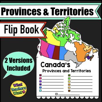 Canada - Provinces and Territories Flip Book