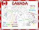 Canada Map Practice - Maps, Mnemonic Device, Practice Shee