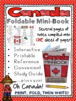 Canada Mini-Book