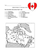 Canada Province Assessment/Quiz Two Forms