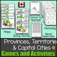 Canada: Provinces and Territories Pennant PLUS Games and A