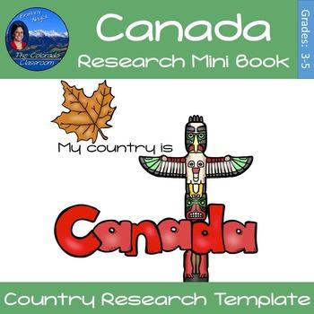 Canada - Research Mini Book