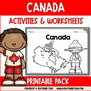 Canada - Vocabulary Pack